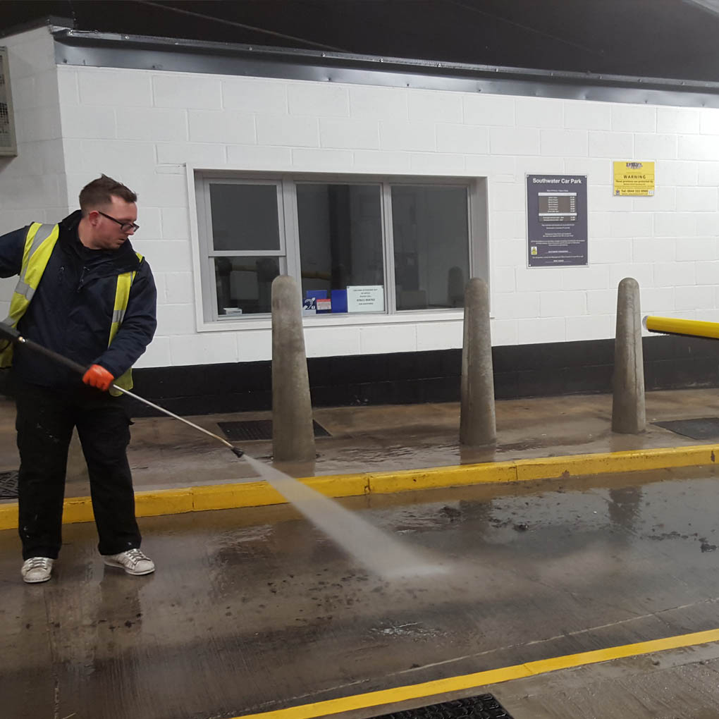 Mutli Story Car Park Cleaning