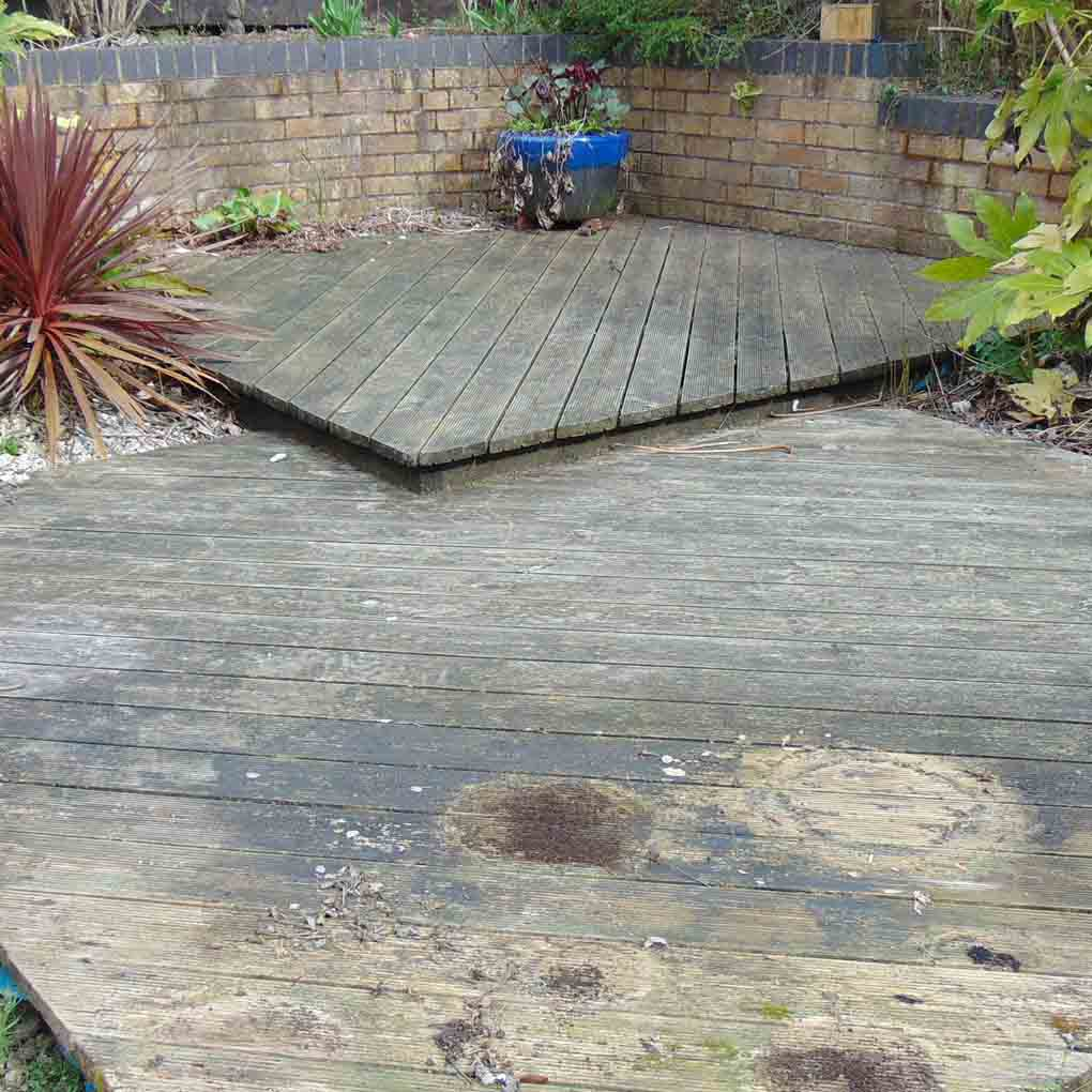 Decking Cleaning Telford