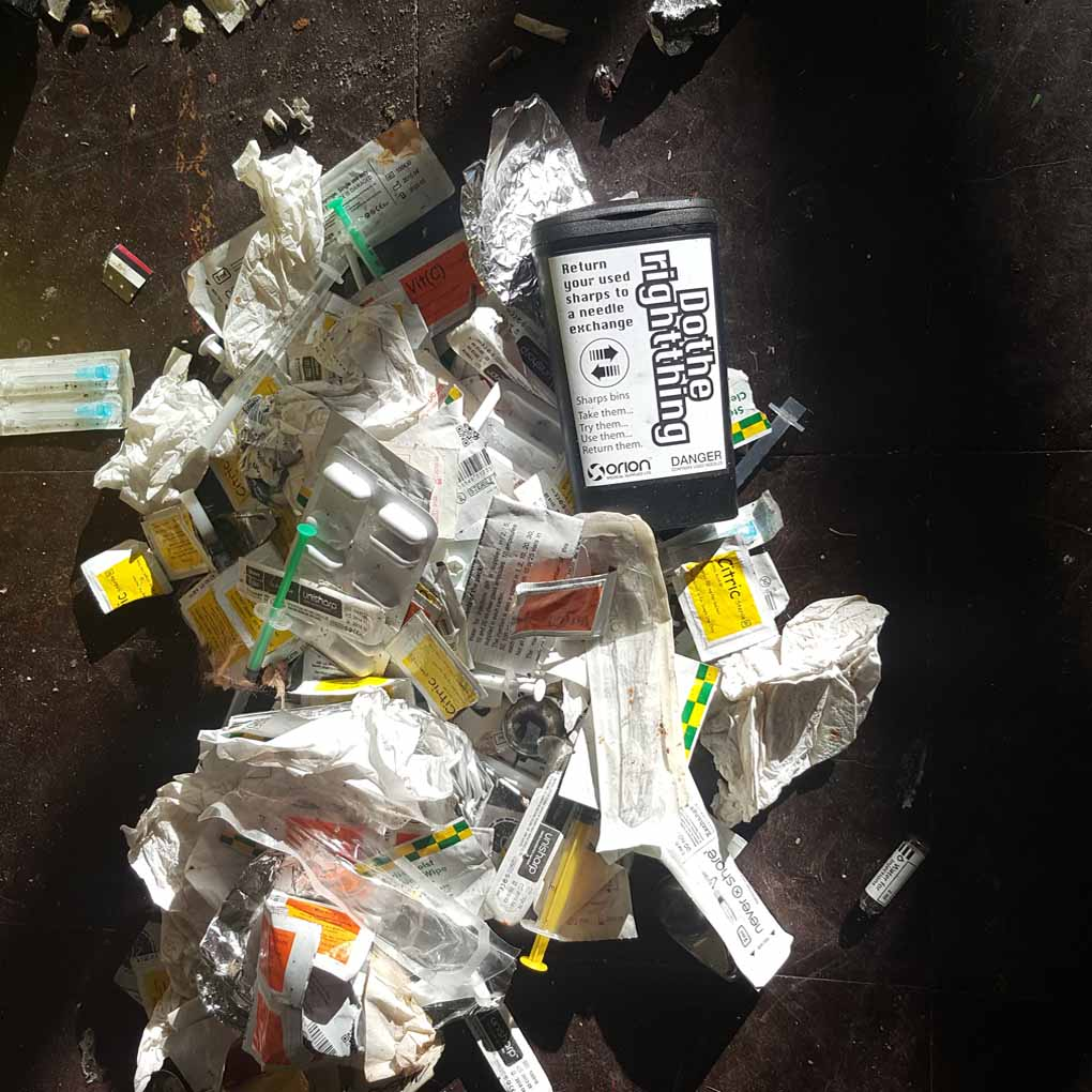 Hypodermic Needle Clean Up Shrewsbury
