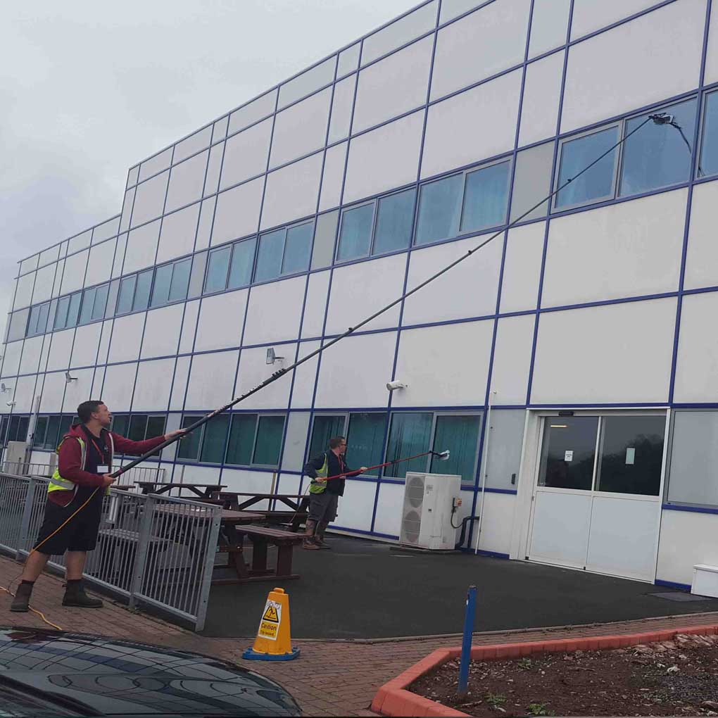 Factory Window Cleaning