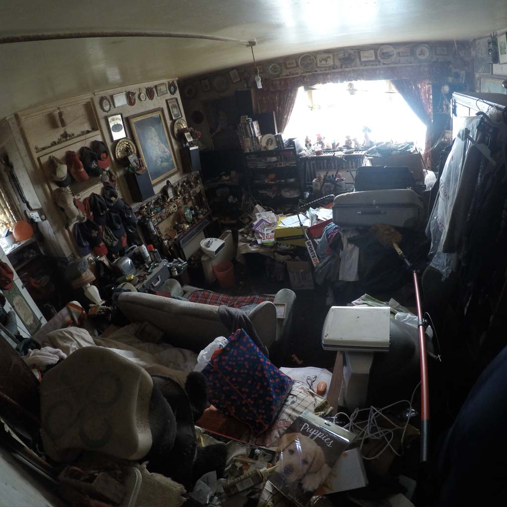 Hoarder Clearance Before