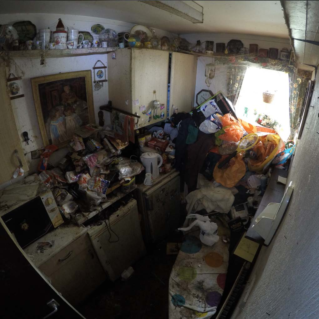 Hoarder Clearance Kitchen