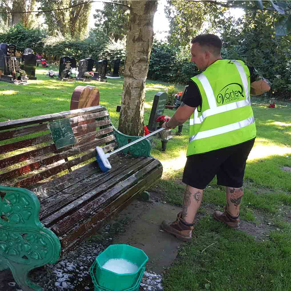 Communal Bench Cleaning