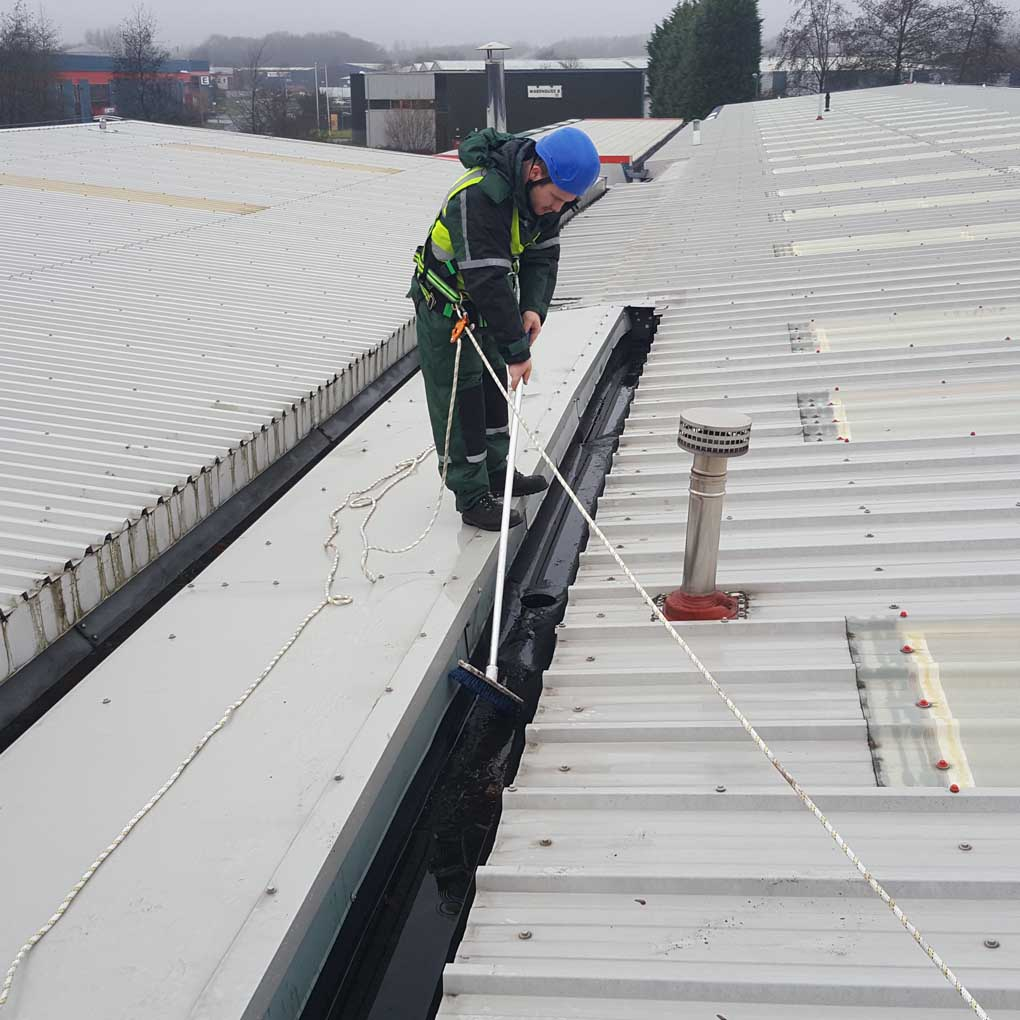Guttter Clearance Roof Access