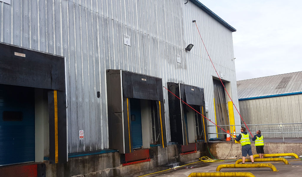 Cladding and Render Cleaning